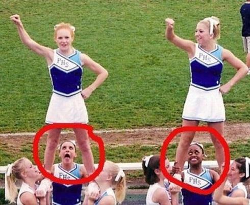 Cheerleader Nackt
