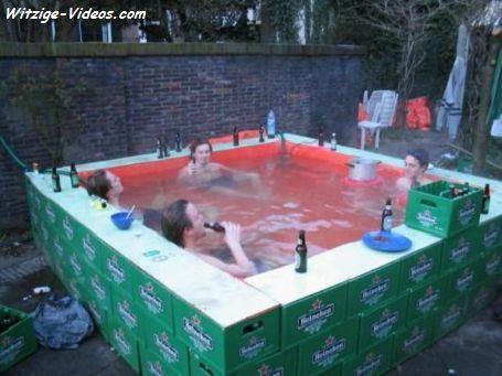 Bierkasten Pool